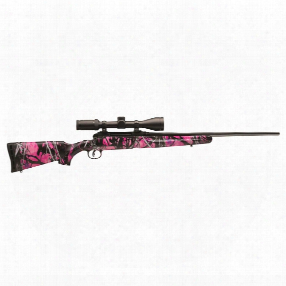 "Savage Youth Axis Ii Xp, Bolt Action, .243 Winchester, 20"" Barrel, 3-9x40 Scope, 4+1 Rounds"