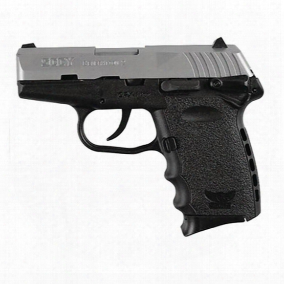 "Sccy Cpx-1, Semi-automatic, 9mm, 3.1"" Barrel, 2-tone Finish, 10 Round Capacity"