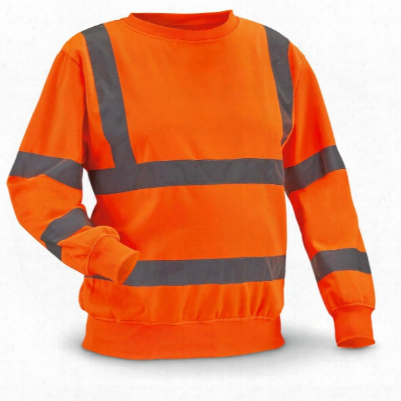Stanley Men's Long Sleeved Crew With Reflective Tape