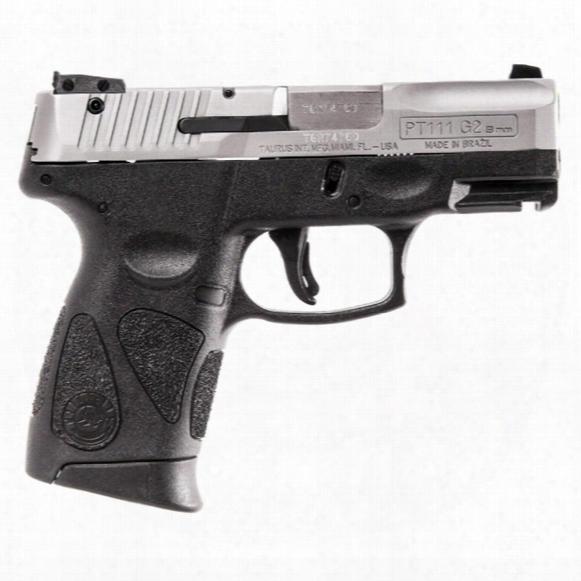 Taurus Millennium G2 Matte Stainless, Semi-automatic, 9mm, 12 + 1
