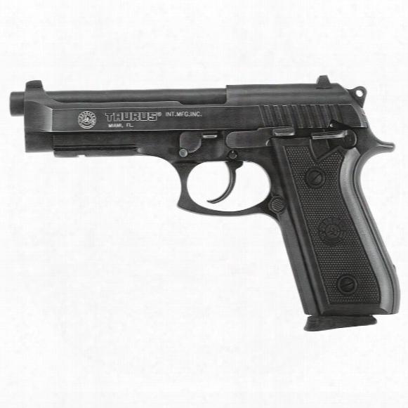 "Taurus Pt92, Semi-automatic, 9mm, 5"" Barrel, Fixed Sights, 17+1 Rounds"