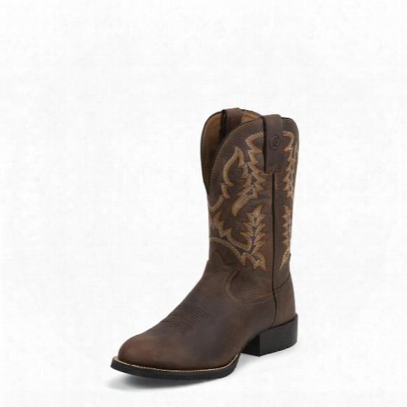 "Tony Lama Pitstops 3r Cowboy Boots, 11"" Rr3214"