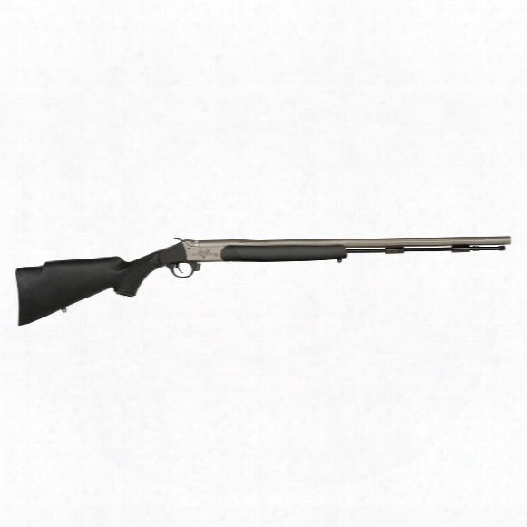 Traditions Pursuit G4 Ultralight Muzzleloader, Break Action, .50 Cal., R741140ns, Black / Cerakote, No Sights
