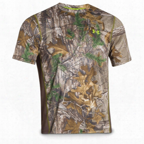 Under Armour Men's Scent Control Camo Nutech Short-sleeve T-shirt