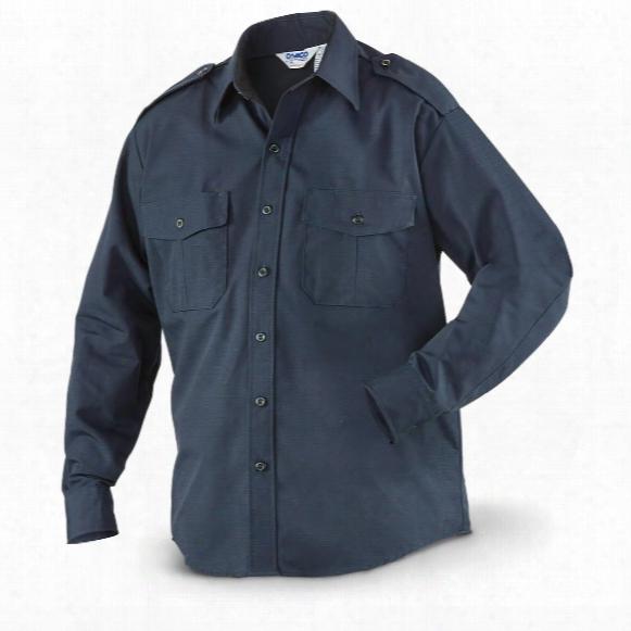 U.s. Border Patrol Surplus Ripstop Bdu-style Shirt, New