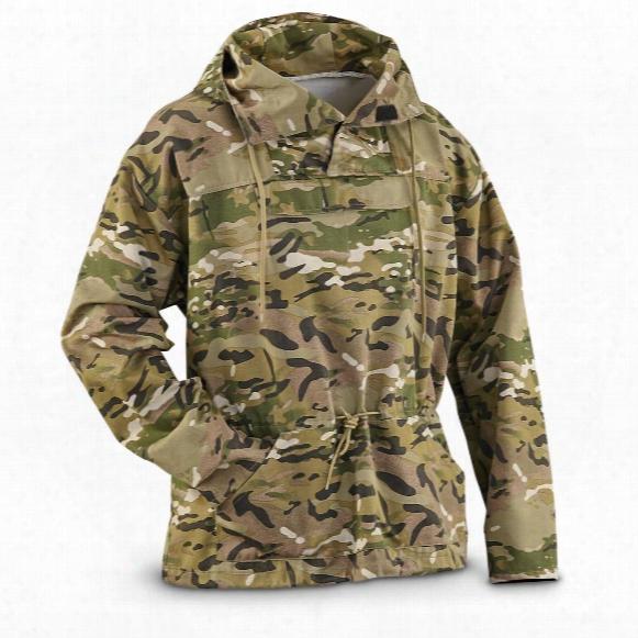 U.s. Military Surplus Men's Ocp Camo Anorak Jacket, New