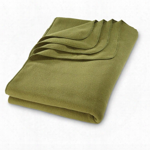 "U.s. Military Surplus Polartec Fleece Blanket, 60""x90"", New"
