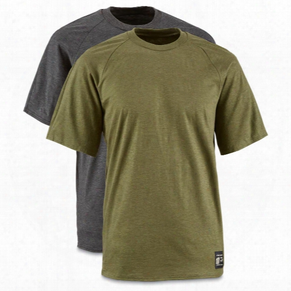 U.s. Military Surplus Potomac Base Layer Shirts, Short Sleeved, Fire Resistant, 2 Pack, New
