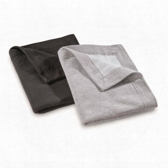 U.s. Military Surplus Stadium Blankets, 2 Pack, New