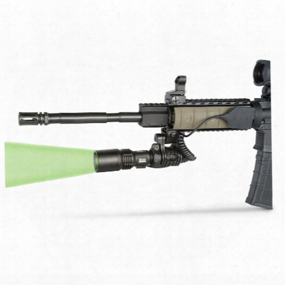 Viridian V300 Green Led Power Zoom Long-range Tactical Illuminator