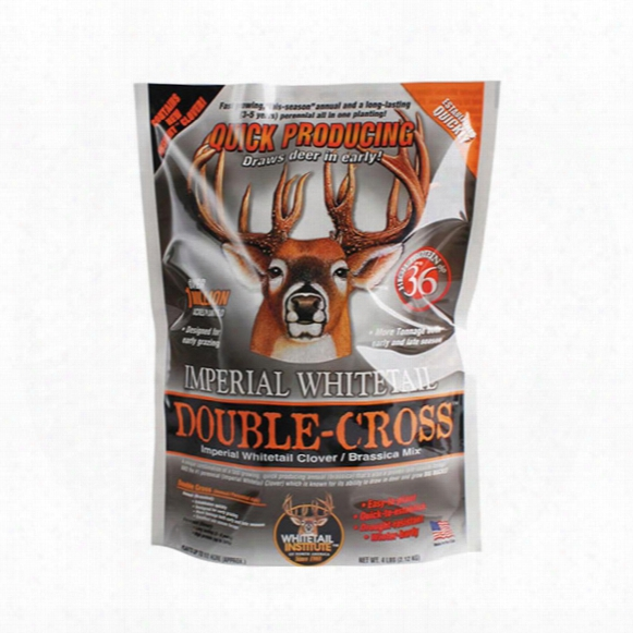 Whitetail Institute Imperial Double-cross Seed Mix