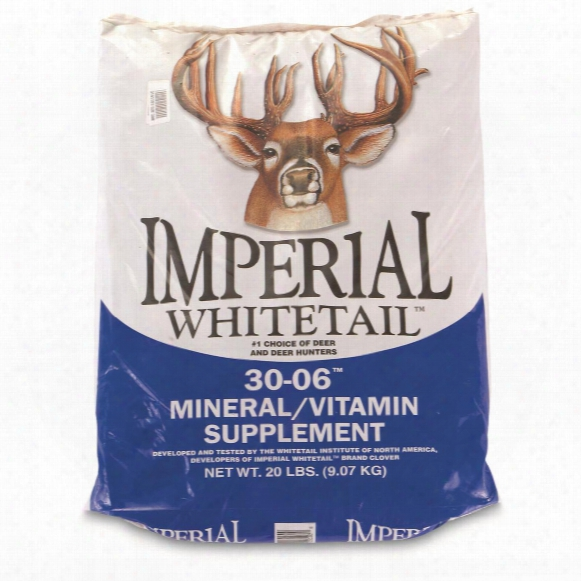 Whitetail Institute Imperial Whitetail 30-06 Mineral/vitamin Supplement, 5-lb. Bag