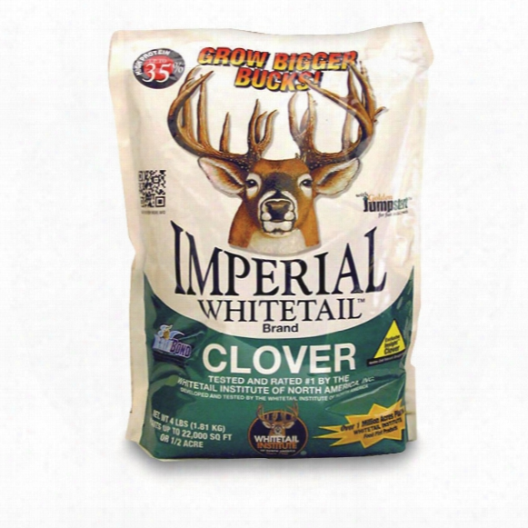 Whit Etail Institute Imperial Whitetail Clover Seed, 18-lb. Bag