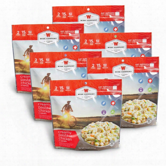 Wise Creamy Pasta With Chicken, 6 Pack, 12 Servings