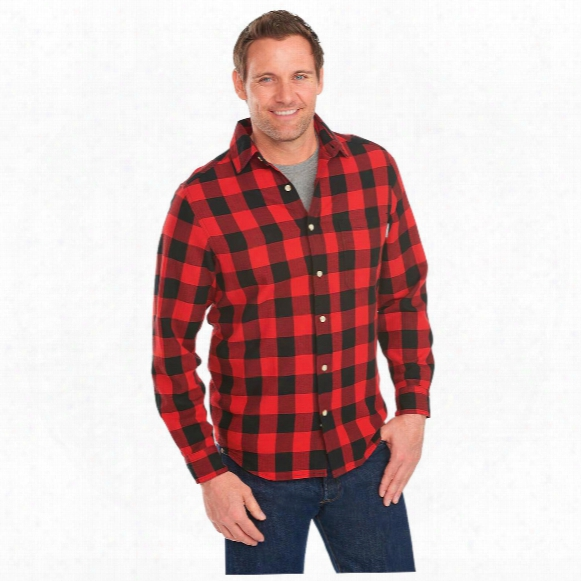 Woolrich Men's Cedar Springs Plaid Long Sleeve Shirt