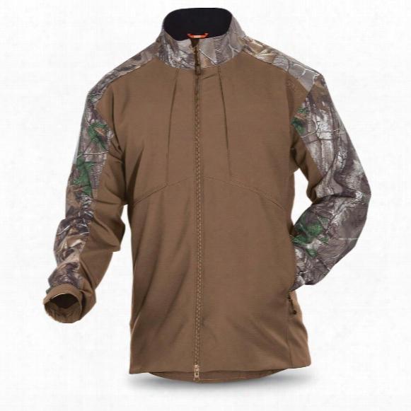 5.11 Tactical Men's Realtree Colorblock Sierra Softshell Jacket