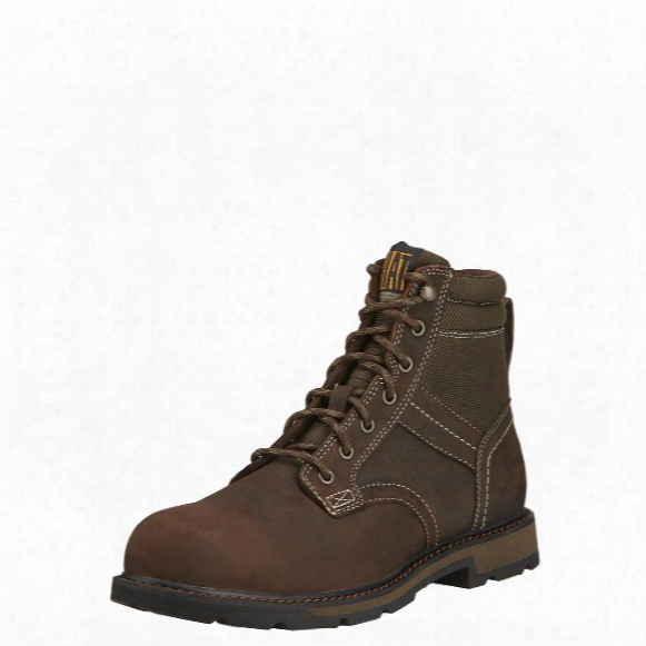 "Ariat 6"" Groundbreaker H20 Waterproof Steel Toe Work Boots"