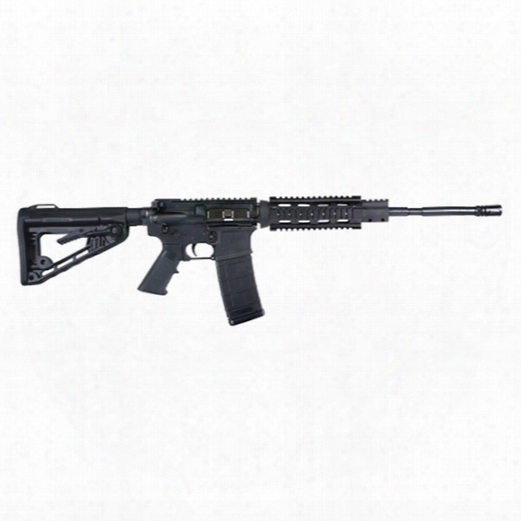 "Ati Mil-sport Carbine With Rail, Semi-automatic, 5.56 Nato/.223 Remington, 16"" Barrel, 30+1 Rounds"