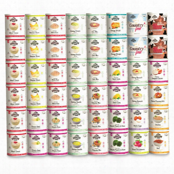 Augason Farms Emergency Variety Food Supply Kit, (1 Person, 30 Day), 559 Servings