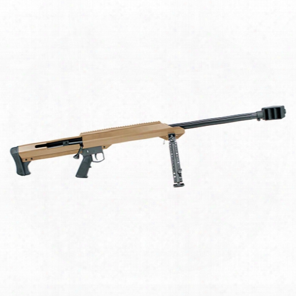 "Barrett Model 99, Single Shot, .50 Bmg, 29"" Barrel, Fde Cerakote, 1 Round"