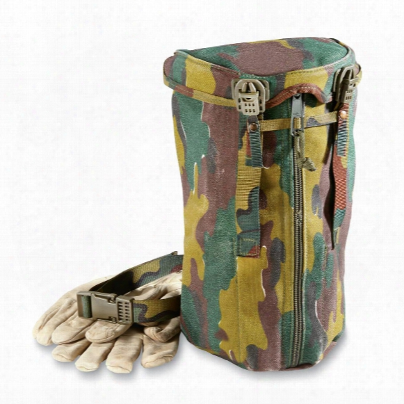 Belgian Camo Drop-leg Equipment Bags, 2 Pack, Used