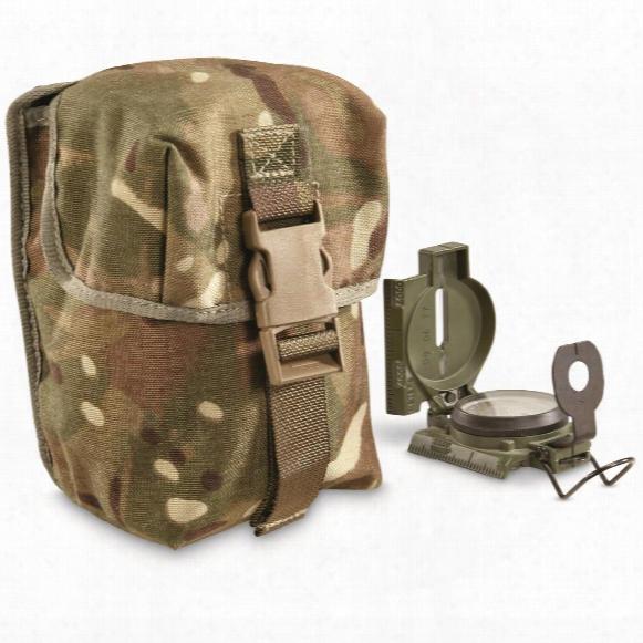 British Military Surplus 100 Round Magazine Pouches, 2 Pack, Like New