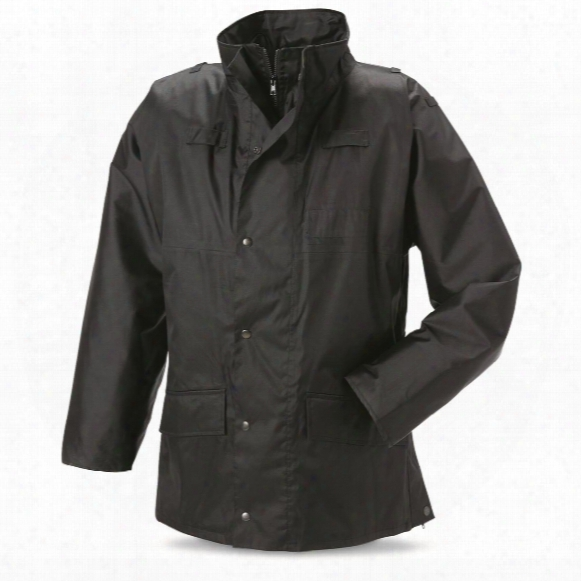 British Police Surplus Light Waterproof Anorak Jacket, Like New