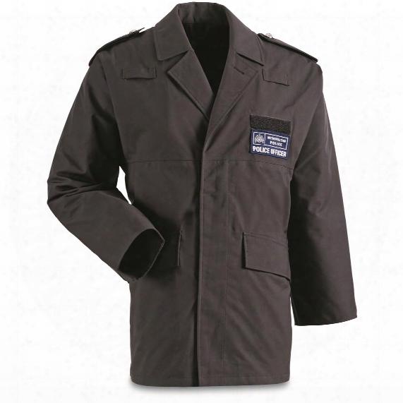 British Police Surplus Waterproof Insulated Anorak Jacket, Like New