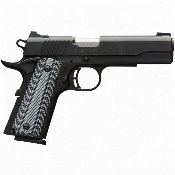 "Browning 1911-380, Semi-automatic, .380 Acp, 4.25"" Barrel, 8 Round"