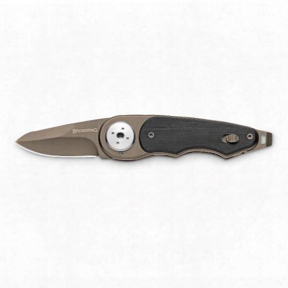 """Browning Black Label Even Money Folding Knife, 2"""" Blade"""
