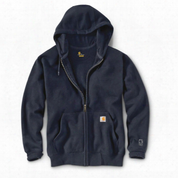 Carhartt Men's Rain Defender Paxton Heavyweight Hooded Zip Sweatshirt