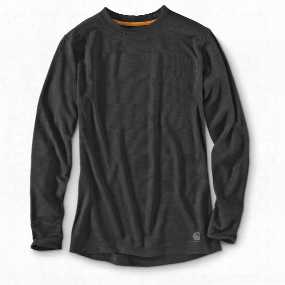 Carhartt Men's Base Force Cold Weather Crewneck Thermal  Shirt
