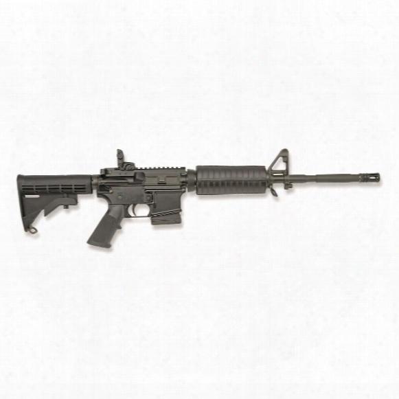 Colorado Legal Colt Ar-15, Semi-automatic, 5.56x45mm Nato, Magpul Mbus Sight, 10 Rounds