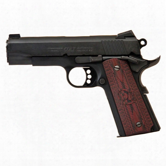 "Colt Lightweight Commander, Semi-automcic, .45 Acp, 4.25"" Blued Barrel, 8 Rounds"