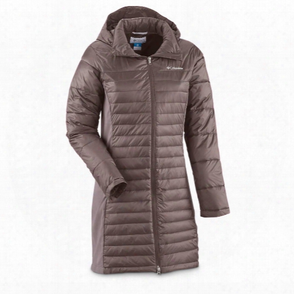 Columbia Women's Powder Pillow Long Jacket