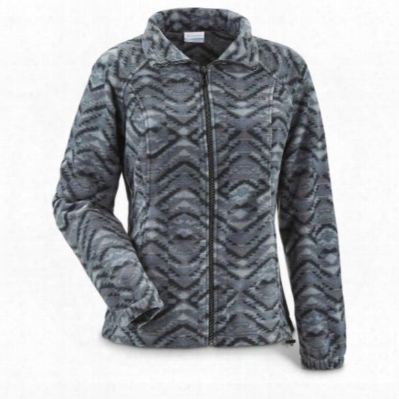 Columbia Women's Benton Springs Print Full Zip Fleece Jacket