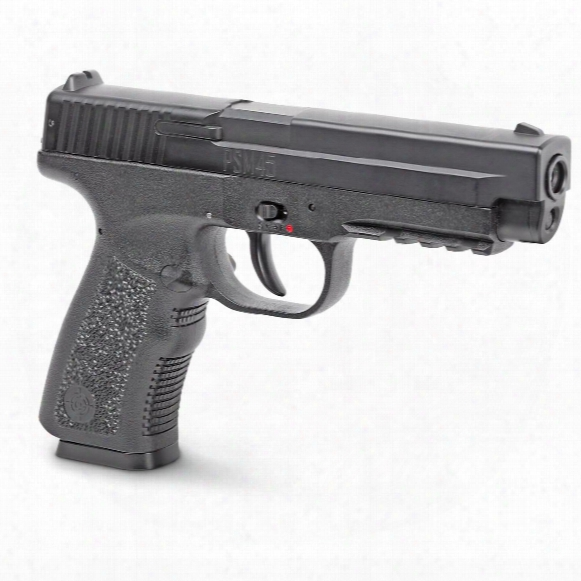 Crosman Psm45 Metal Slide Spring Piston Air Pistol, .177 Caliber, 20 Rounds