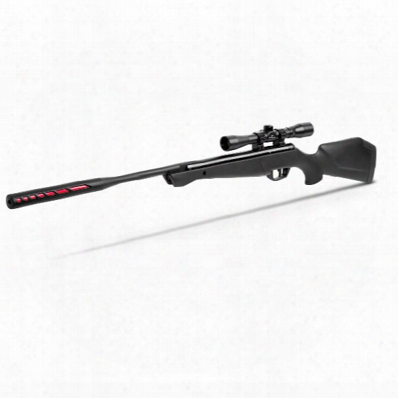 Crosman Redtail Nitro Piston Break Barrel Air Rifle, .177/.22 Caliber, 4x32mm Scope