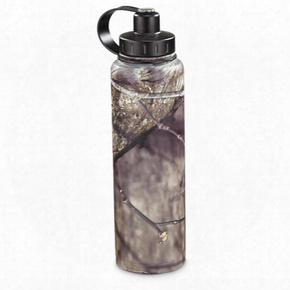 Ecovessel Bigfoot Insulated Stainless Steel Water Bottle, Mossy Oak Break-up Infinity