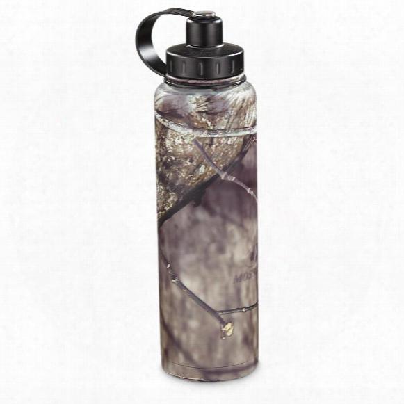 Ecovessel Bigfoot Insulated Stainless Steel Water Bottle, Mossy Oak Break-up Infinity
