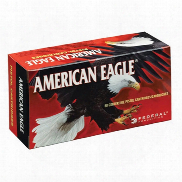 Federal American Eagle Varmint And Predator, .17 Hornet, Jhp, 20 Grain, 50 Rounds