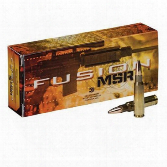 Federal Fusion Msr, 6.8 Spc, Bsbt, 90 Grain, 20 Roundds