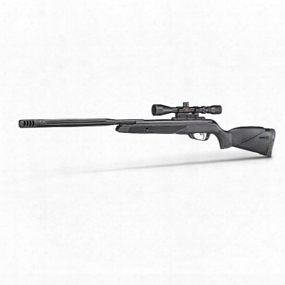 "Gamo Hornet Maxxim Igt Break Barrel Air Rifle, .177/.22 Caliber, 19.9"" Barrel, 33-9x40mm Scope"