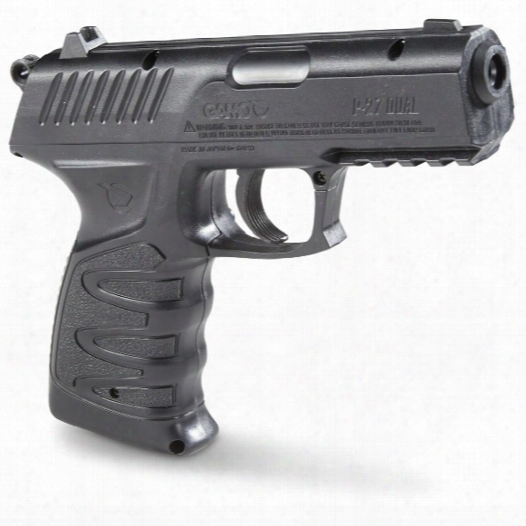 Gamo P-27 Dual Semi-automatic Co2 Air Pistol, .177 Caliber, 12 Gram, 16 Rounds