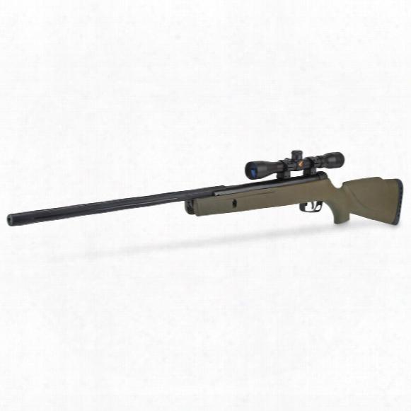 "Gamo Rocket Spring Piston Break Barrel Air Rifle,.177 Caliber,18"" Barrel,4x32mm Scope, Refurbished"