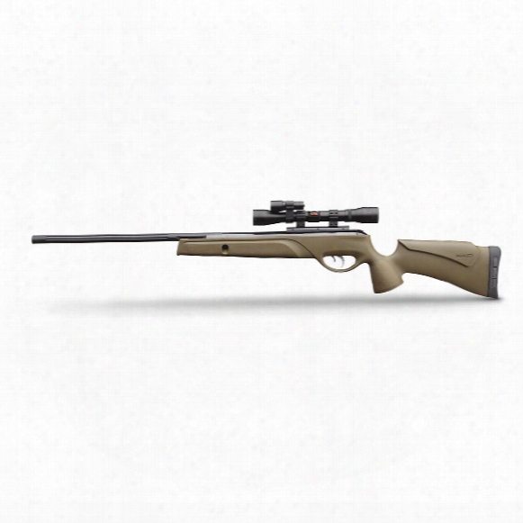 "Gamo Varmint Hunter Hp Nitro Piston Air Rifle, .177 Caliber, 4x32mm Scope, 18"" Barrel, Refurbished"