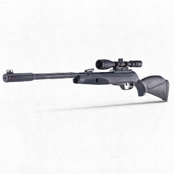 "Gamo Whisper Fusion Mach 1 Igt Break Barrel Air Rifle, .177 Caliber, 20.5"" Barrel, 3-9x40mm Scope"
