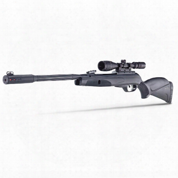 "Gamo Whisper Fusion Mach 1 Igt Break Barrel Air Rifle, .22 Caliber, 20.5"" Barrel, 3-9x40mm Scope"