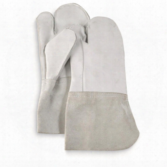 German Military Surplus Leather Chopper Trigger Mitts, 3 Pack, New