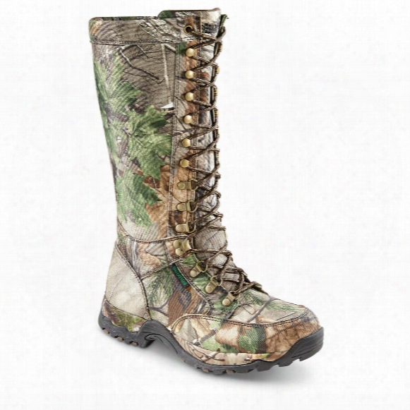Guide Gear Mena∓amp;#39;s Nylon Snake Boots, Waterproof, Side Zip